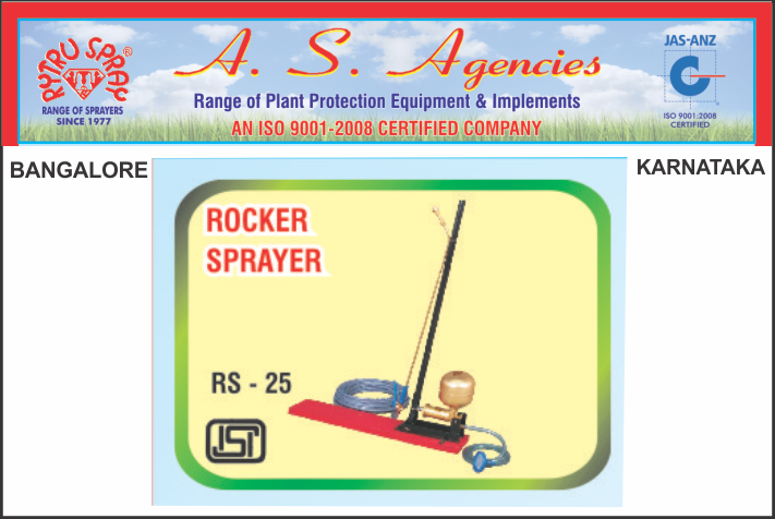 RYTRU ROCKER SPRAYER