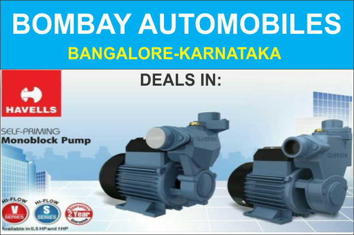 HAVELLS ELECTRIC MONOBLOCK PUMPS