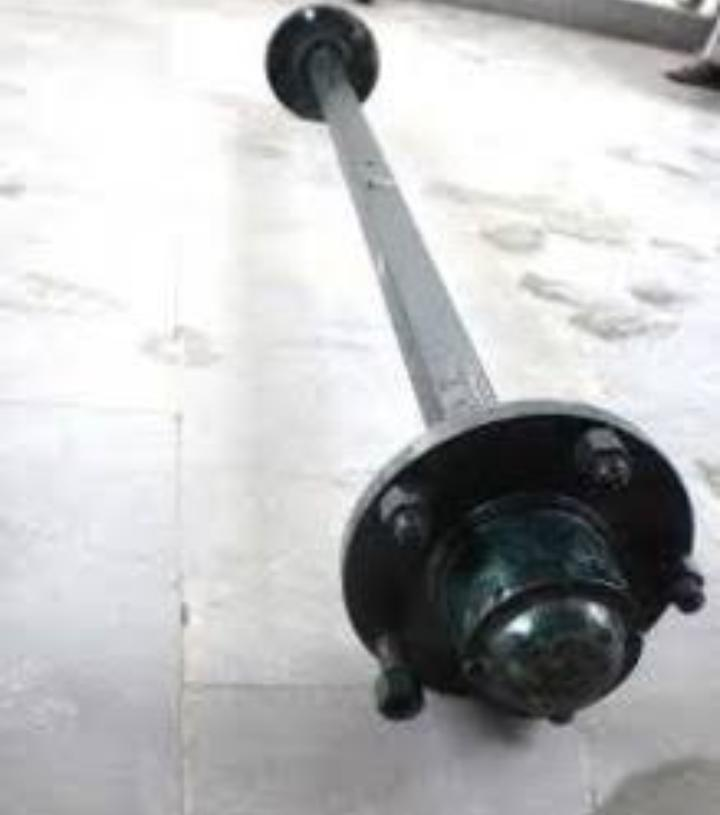 Thresher Machine Wheel Axle