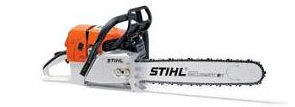 PETROL DRIVEN CHAINSAW
