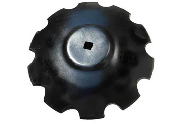 RAISED FLAT BACK DISC