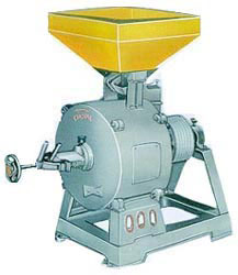 450 MM RAJKOT TYPE VERTICAL FLOUR MILL COMPLETE WITH STONE