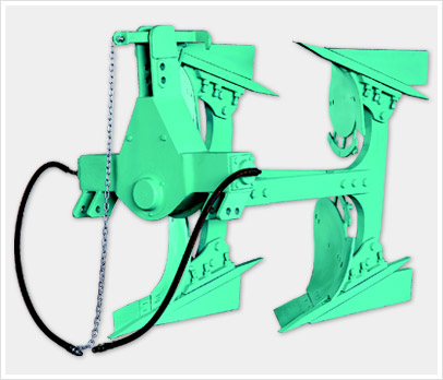 REVERSIBLE PLOUGH ( DOUBLE CYLINDER - 2 FURROW)